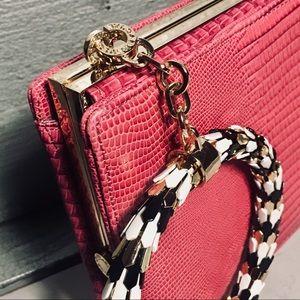 Bulgari Bags - Bvlgari Serpenti Lizard Clutch